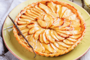 Receta de Tarta de manzana con hojaldre