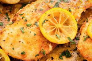 Pechugas de pollo al ajo y limón