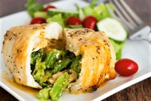 Pechuga de pollo a la plancha para dieta