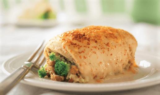 Pechuga de pollo con brócoli