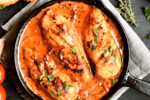 Pollo en salsa Arguiñano (1)