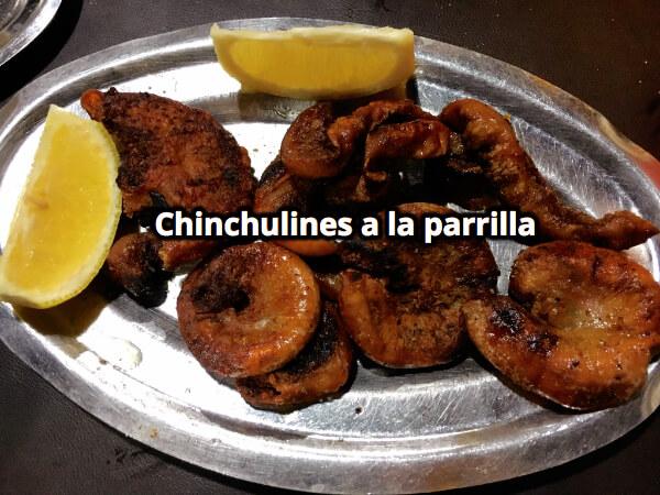 Chinchulines a la parrilla