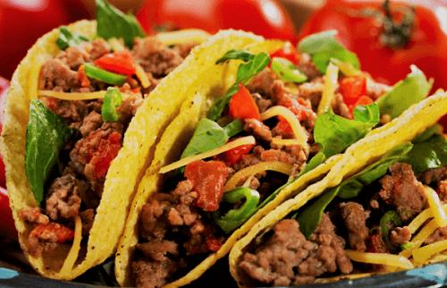 Tacos de suadero y longaniza