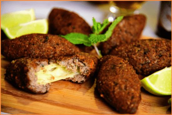 Bolitas de carne árabe
