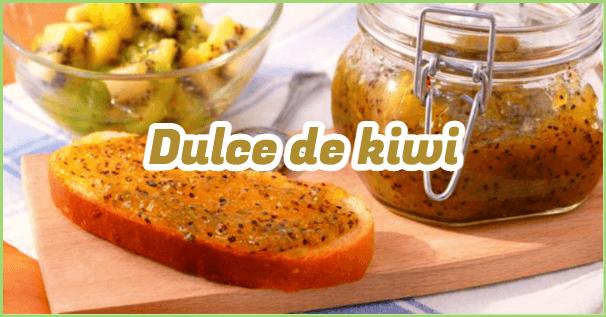 dulce de kiwi