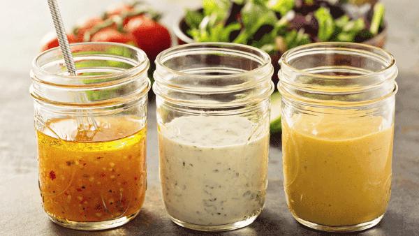 9 salsas y aderezos para tus ensaladas